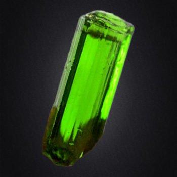 Turmalin zielony (Verdelit)